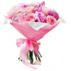 Букет «Розовые облака»